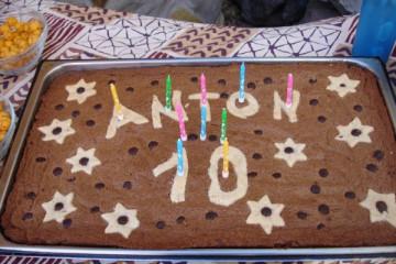 Galerie: Anton's 10.Geburtstag bday anton 10 0001 Finca Argayall (La Gomera)