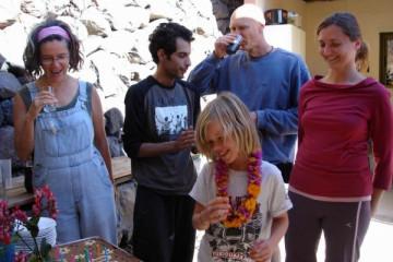 Galerie: Anton's 10.Geburtstag bday anton 10 0007 Finca Argayall (La Gomera)