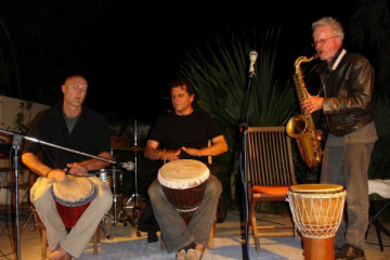 Gallery: Celebrate music event 02 08 0031 Finca Argayall (La Gomera)