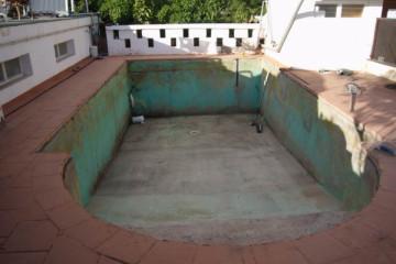 Galerie: Pool Renovierung warmwaterpool 0001 Finca Argayall (La Gomera)