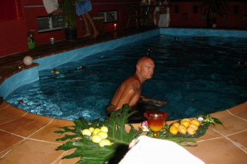 Galerie: Pool Renovierung warmwaterpool 0025 Finca Argayall (La Gomera)
