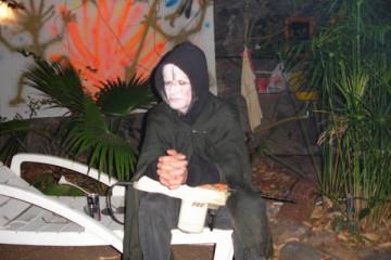 Galerie: Halloween 2008 halloween 08 000009 Finca Argayall (La Gomera)