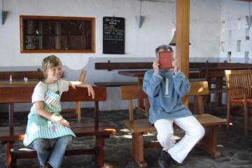 Galerie: Renovierung in Rot renovation 09 0002 Finca Argayall (La Gomera)