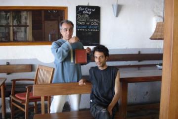 Galerie: Renovierung in Rot renovation 09 0003 Finca Argayall (La Gomera)
