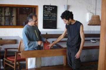 Galerie: Renovierung in Rot renovation 09 0004 Finca Argayall (La Gomera)