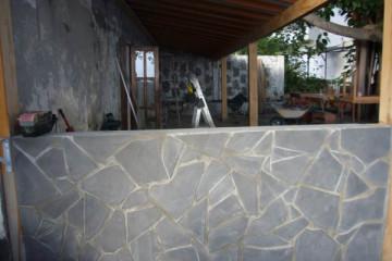 Galerie: Renovierung in Rot renovation 09 0007 Finca Argayall (La Gomera)