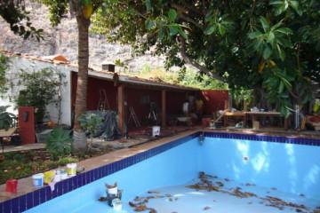 Galerie: Renovierung in Rot renovation 09 0008 Finca Argayall (La Gomera)