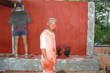 Galerie: Renovierung in Rot renovation 09 0009d Finca Argayall (La Gomera)