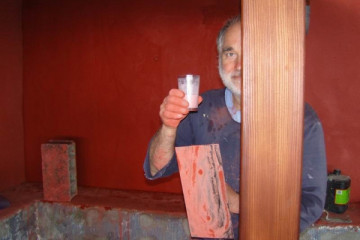Galerie: Renovierung in Rot renovation 09 0009g Finca Argayall (La Gomera)
