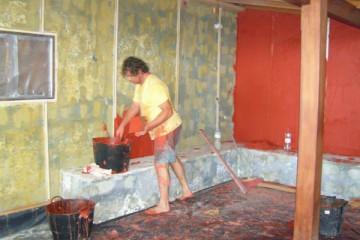 Galerie: Renovierung in Rot renovation 09 0009h Finca Argayall (La Gomera)