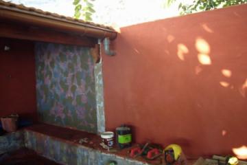 Galerie: Renovierung in Rot renovation 09 0012 Finca Argayall (La Gomera)