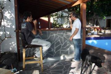 Galerie: Renovierung in Rot renovation 09 0014 Finca Argayall (La Gomera)