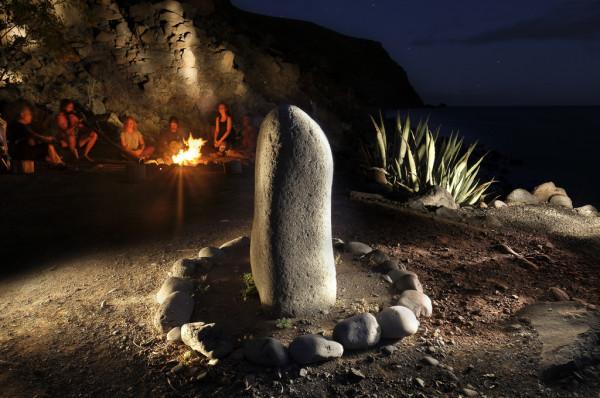 Seminare Fireplace Finca Argayall (La Gomera)