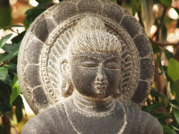 Meditation 3 1 buddha face Finca Argayall (La Gomera)