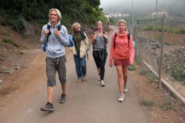 Galerie: Finca crew 2009 finca people 2009 0004 Finca Argayall (La Gomera)