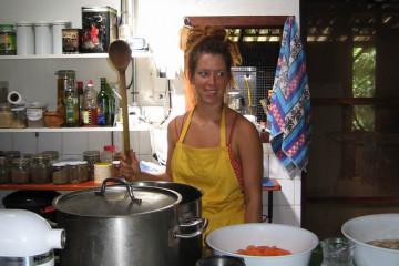 Galerie: Finca crew 2009 finca people 2009 0016 Finca Argayall (La Gomera)
