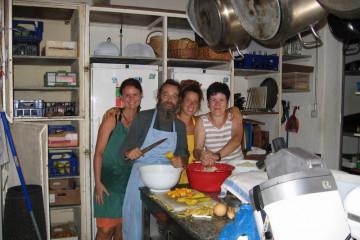 Galerie: Finca crew 2009 finca people 2009 0042 Finca Argayall (La Gomera)
