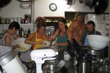 Galerie: Finca crew 2009 finca people 2009 0044 Finca Argayall (La Gomera)