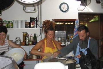 Galerie: Finca crew 2009 finca people 2009 0045 Finca Argayall (La Gomera)
