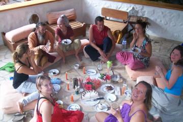 Galerie: Finca crew 2009 finca people 2009 0054 Finca Argayall (La Gomera)