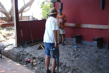 Galerie: Renovierung 2010 renovation 2010 0016 1 1 Finca Argayall (La Gomera)