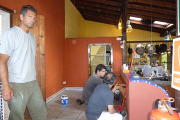 Galerie: Renovierung 2010 renovation 2010 0059 1 Finca Argayall (La Gomera)
