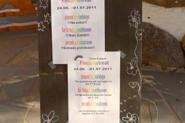 Galerie: Retreat 2011 retreat 2011 09 1 Finca Argayall (La Gomera)
