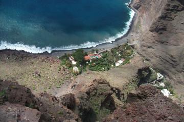 Finca impressions 2015 von ganz oben Finca Argayall (La Gomera)