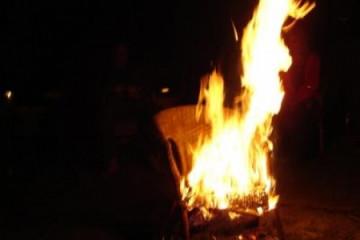 Galerie: Osterfeuer easterfire06 Finca Argayall (La Gomera)