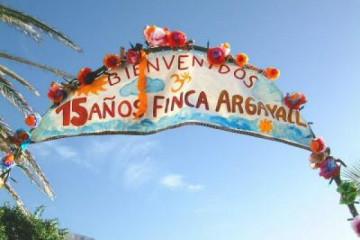 Galerie: Ein paar Erinnerungen time anniversary15 20011206 Finca Argayall (La Gomera)