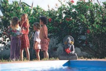 Galerie: Ein paar Erinnerungen time fincakids 19950620 Finca Argayall (La Gomera)