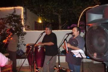 Galerie: Finca Geburtstag 6.12.2006 band 1 Finca Argayall (La Gomera)