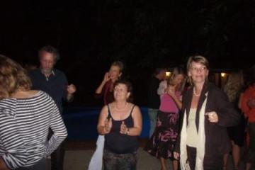 Galerie: Finca Geburtstag 6.12.2006 dance 3 Finca Argayall (La Gomera)