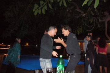 Galerie: Finca Geburtstag 6.12.2006 dance 9 Finca Argayall (La Gomera)
