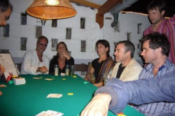 Galerie: Sylvester 06 & 20 Jahre Finca casino 4 Finca Argayall (La Gomera)