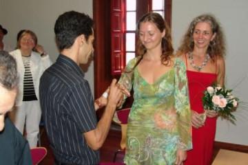Galerie: Die Hochzeit casacultural 3b Finca Argayall (La Gomera)