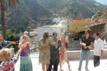 Galerie: Die Hochzeit casacultural 5e Finca Argayall (La Gomera)
