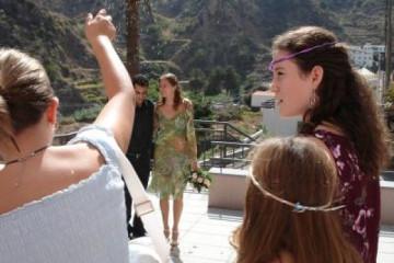 Galerie: Die Hochzeit casacultural 5f Finca Argayall (La Gomera)