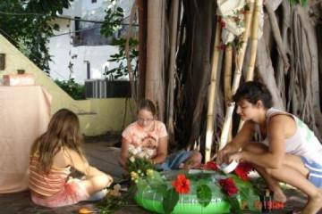 Galerie: Die Hochzeit davor 2 Finca Argayall (La Gomera)