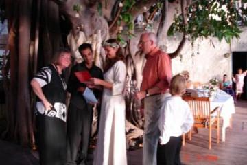 Galerie: Die Hochzeit evening 3 Finca Argayall (La Gomera)