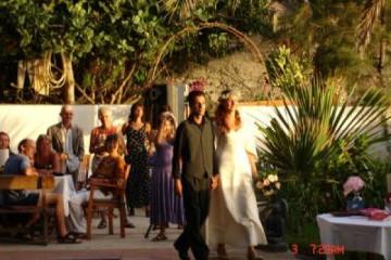 Galerie: Die Hochzeit evening 5 Finca Argayall (La Gomera)