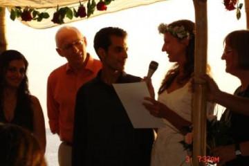 Galerie: Die Hochzeit evening 7 Finca Argayall (La Gomera)