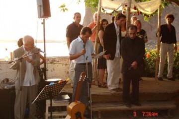 Galerie: Die Hochzeit evening 8 Finca Argayall (La Gomera)