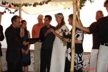 Galerie: Die Hochzeit evening 9 Finca Argayall (La Gomera)