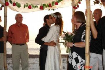 Galerie: Die Hochzeit evening 9a Finca Argayall (La Gomera)