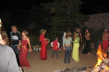 Galerie: Tanz in den Mai maitanz 2 06 04 31 Finca Argayall (La Gomera)