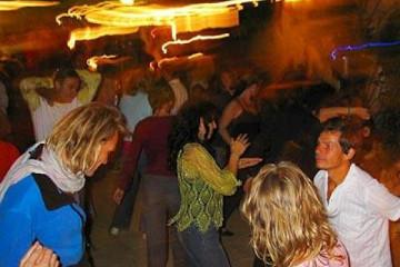 Galerie: Sylvester 2005 dance7 Finca Argayall (La Gomera)