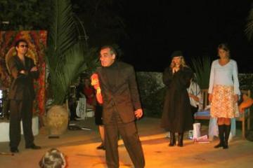 Galerie: Sylvester 2004 life nyeshow06 Finca Argayall (La Gomera)