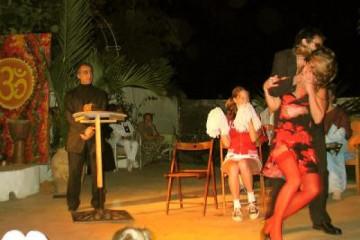 Galerie: Sylvester 2004 life nyeshow14 Finca Argayall (La Gomera)