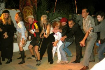 Galerie: Sylvester 2004 life partyami2 20041231 Finca Argayall (La Gomera)